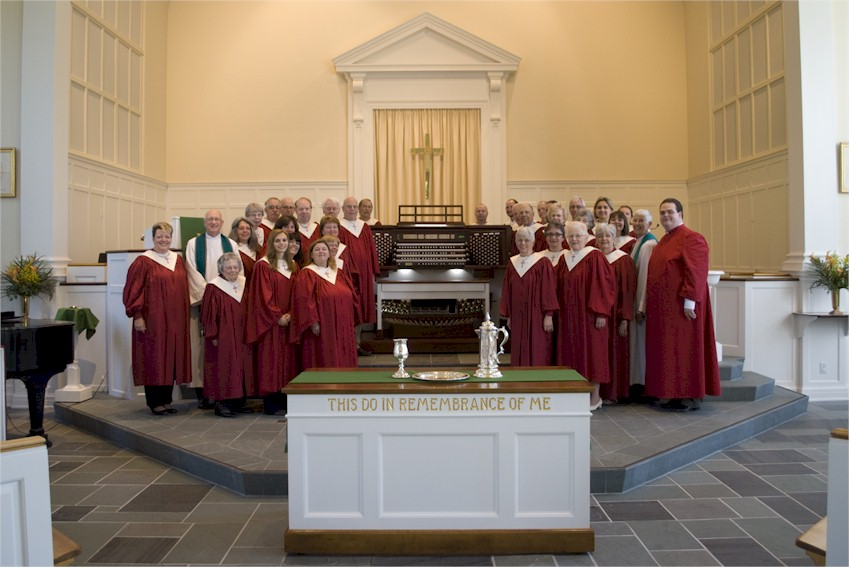 The First Reformed Church of Scotia Choir