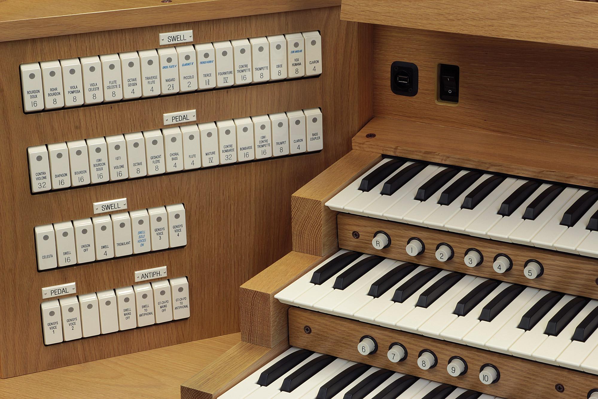 Allen Organ of the Week Hanover Pennsylvania